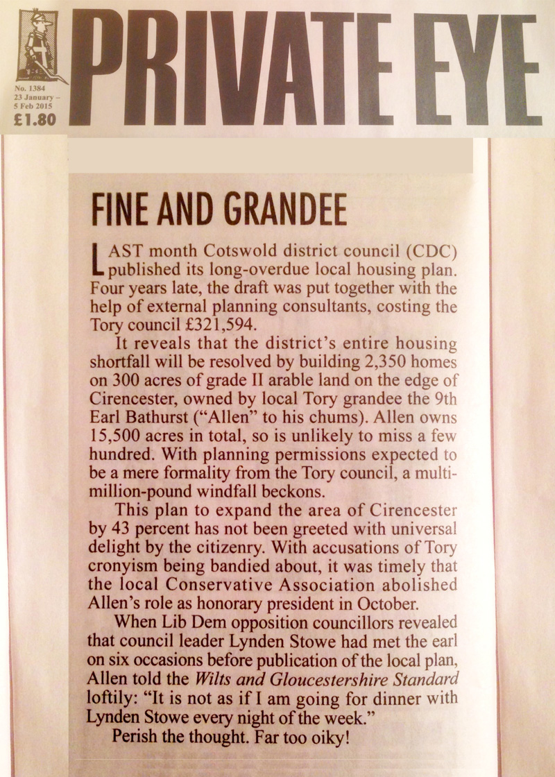 private eye cirencester